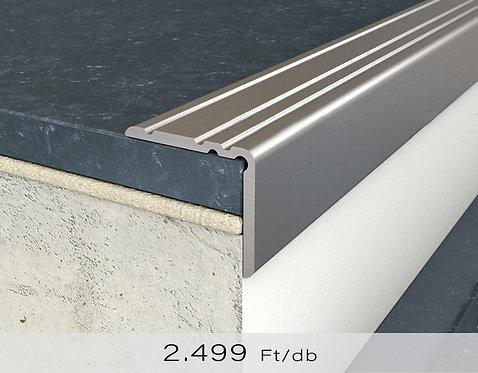 PF 10 Öntapadós lépcsőprofil 20 x 25 mm Titán 0,9 m