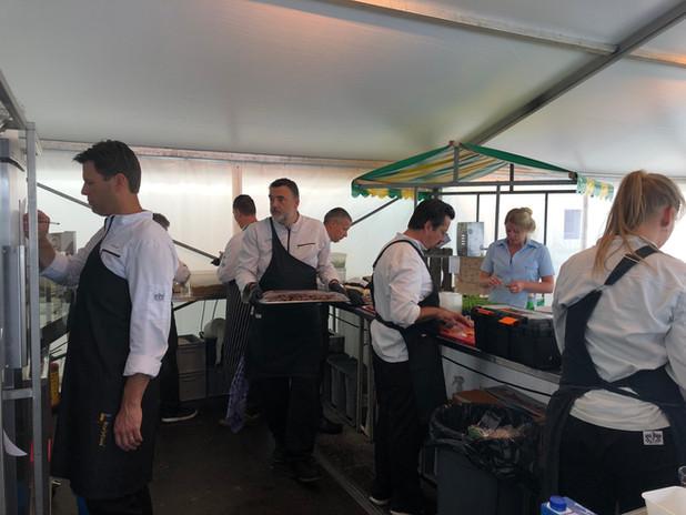 ROC Mondriaan keuken crew