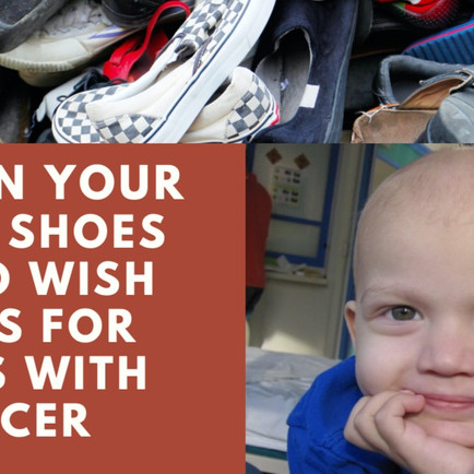 Turn Old Shoes into Wishlists.
