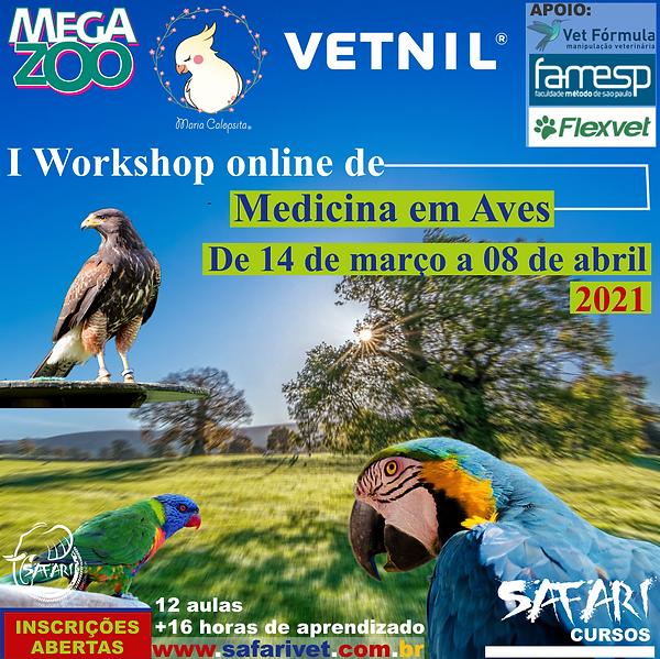 I Workshop Online de Medicina em Aves 5.