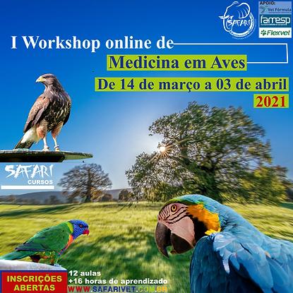 I Workshop Online de Medicina em Aves