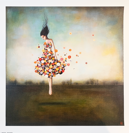 Gravura BOUNDLESSNESS IN BLOOM de Duy Huynh