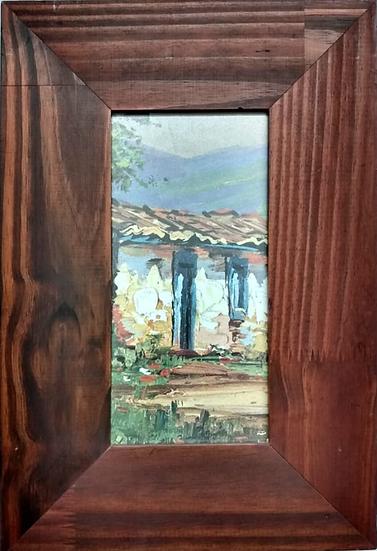 Gravura Casa - Quadro Pronto OUTLET