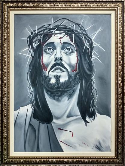 Tela Jesus Cristo - Quadro Pronto OUTLET