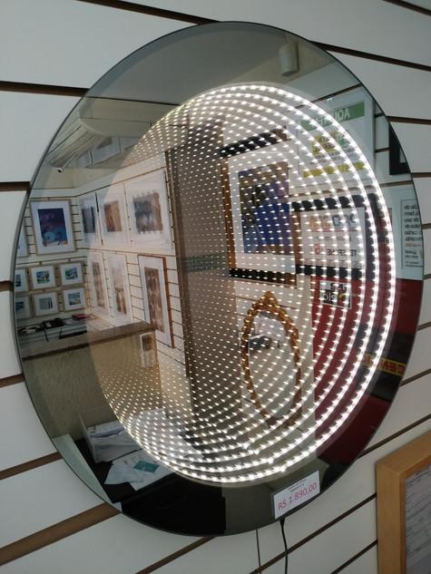 Espelho Infinito modelo