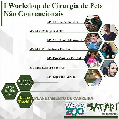 I Workshop Online de Cirurgia em Pets Nã
