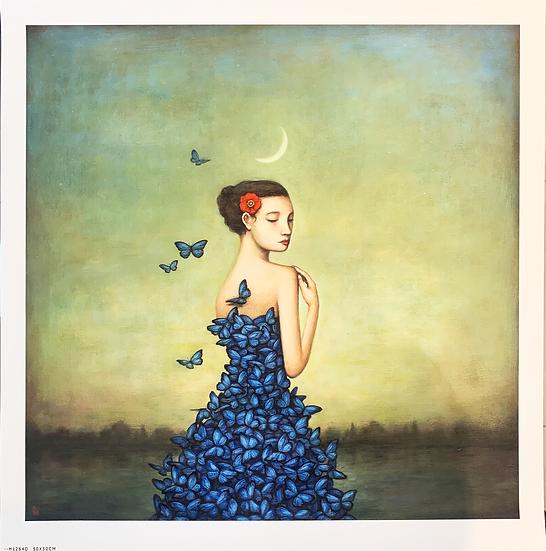 Gravura METAMORPHOSIS IN BLUE de Duy Huynh