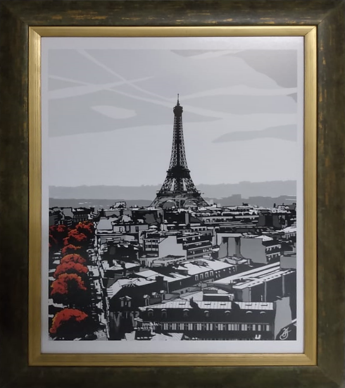Torre Eiffel - Quadro Pronto OUTLET