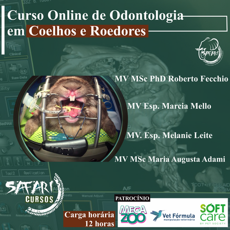 Odontologia em Coelhos e Roedores