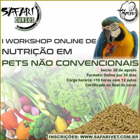 Nutrição em Pets N. Convencionais