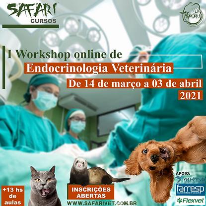 I Workshop Online de Endocrinologia Vete