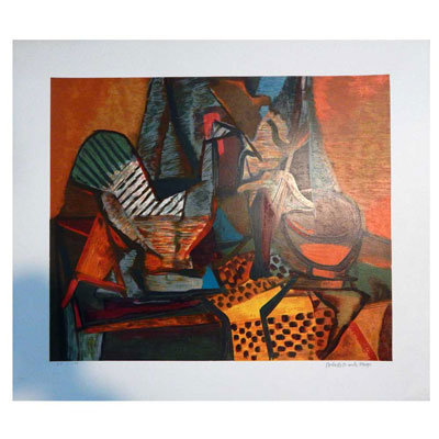 Burle Marx - Gravura assinada