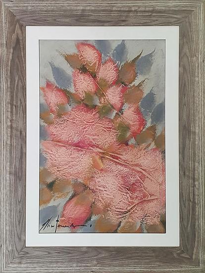 Tela Flores de Chico Ferreira - Quadro Pronto