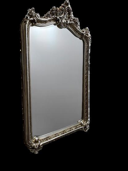 Espelho bizotado em resina - Quadro Pronto