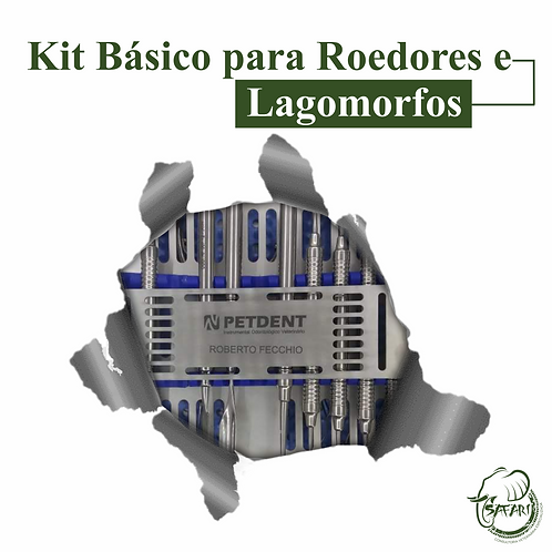 KIT BÁSICO PARA ROEDORES E LAGOMORFOS