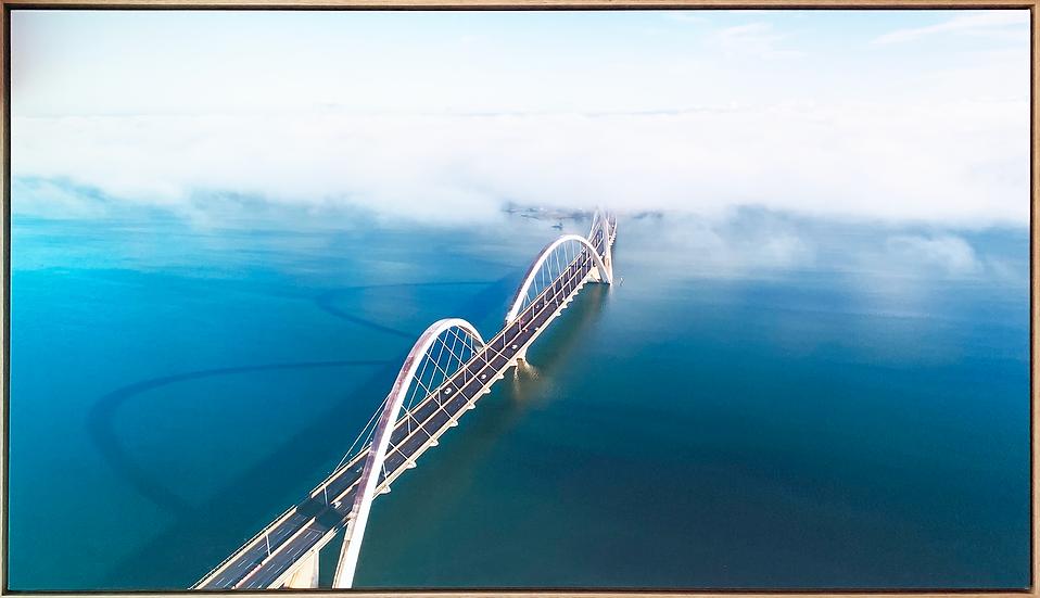 Ponte JK em canvas - Quadro Pronto