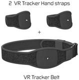 Skywin VR Tracker Belt and Tracker Strap Bundle for HTC Vive System Tracker Pucks