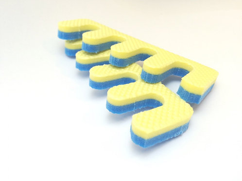 Разделитель для пальцев пенопропилен №50 шт желтый