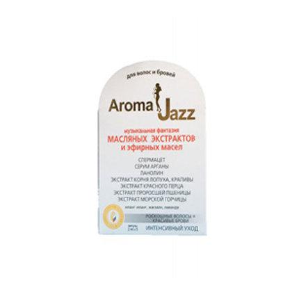 AROMA JAZZ Масляной экстракт для волос и бровей, ампулы 5*2 мл