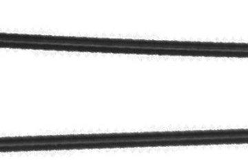 Шпильки DEWAL черные, прямые 45 мм, 60 шт/уп, на блистере