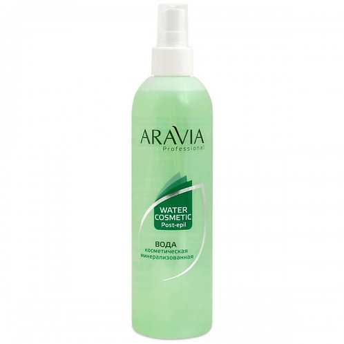 Aravia вода косметическая минерализ. с мятой и витаминами
