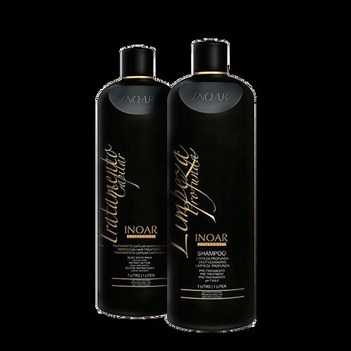 MOROCCAN HAIR TREATMENT Средство для укрепления волос, ШАГ 2,
