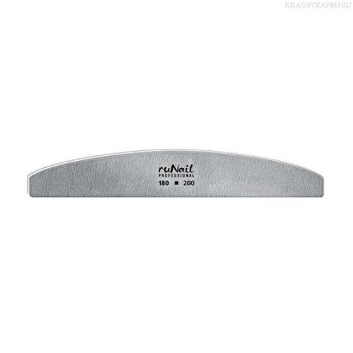 Профессиональная пилка для искусственных ногтей 180/200 RUNAIL