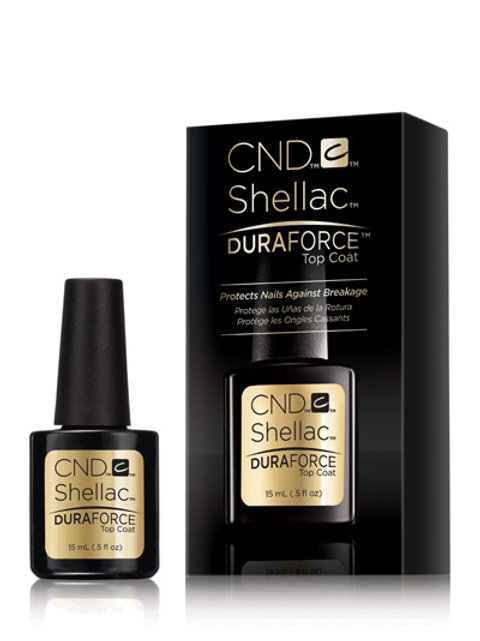 CND Shellac™ DuraForce Top Coat верхнее покрытие для шеллака