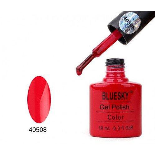 BLUESKY Soak off gel polish color  красный