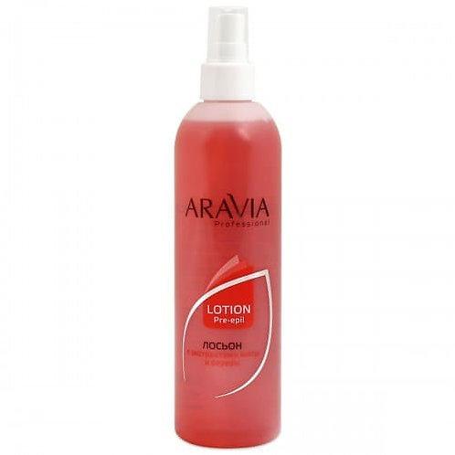 ARAVIA лосьон для обработки кожи перед депиляцией мята+береза