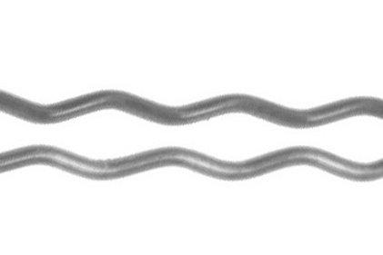 DEWAL SLT60V-4S/60 Шпильки  серебристые, волна 40мм, 60шт