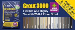 grout 3000 colours