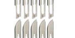 Cuchillas Stériles para Bisturí - 100 piezas por caja
