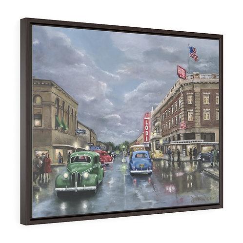 Stuck In Lodi - 30x24 Framed Canvas Print