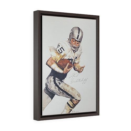 """Mr Stickum""   12x18 Framed Premium Gallery Wrap Canvas"