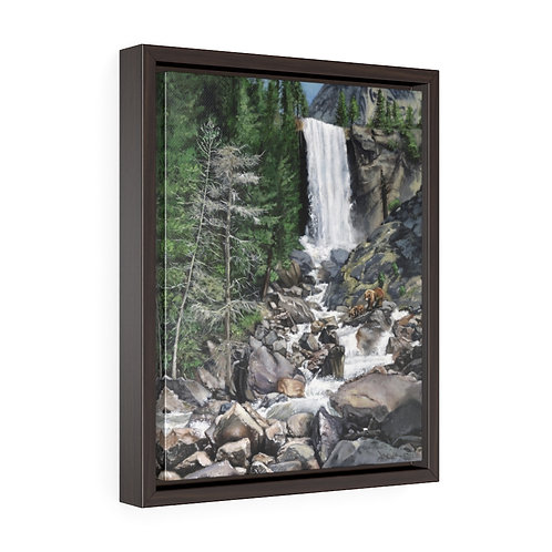 """""""Living Water""""  11X14  Framed Premium Gallery Wrap Canvas"""