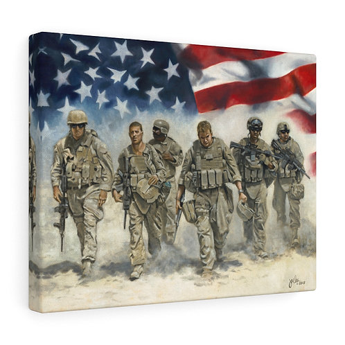 """For Freedom""  Canvas Gallery Wraps"