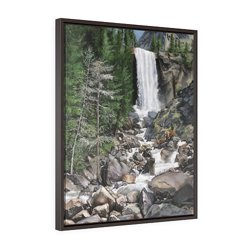 """""""Living Water""""  24X30 Framed Premium Gallery Wrap Canvas"""