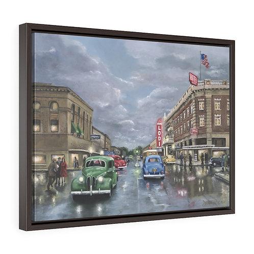 """Stuck In Lodi""  18x24  Framed Premium Gallery Wrap Canvas"