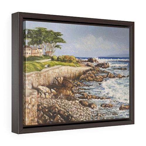 """""""PG Walk""""  11X14 Framed Premium Gallery Wrap Canvas"""