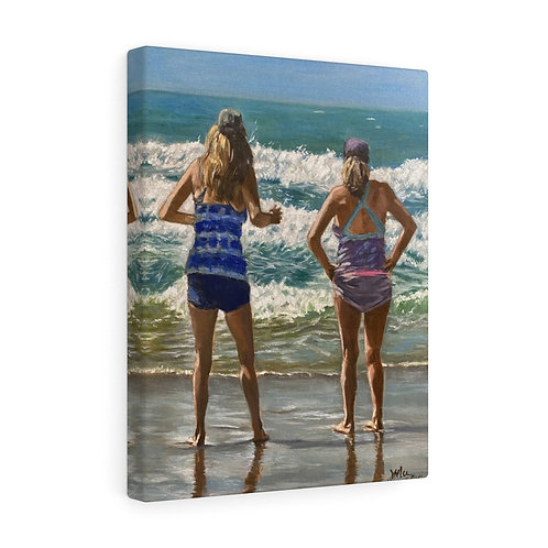 """Wave Watcher""  11X14 Canvas Gallery Wraps"