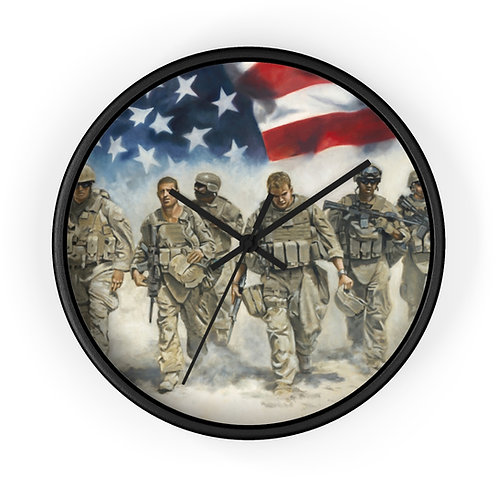 For Freedom Wall clock