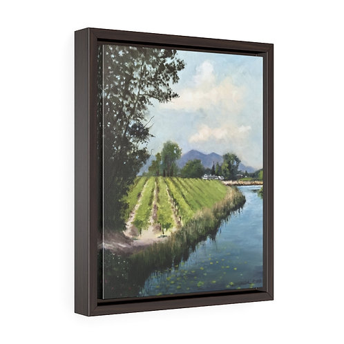 """""""Valley Life""""  11X14 Framed Premium Gallery Wrap Canvas"""