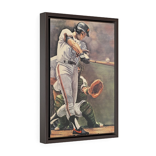 """""""WILL TO WIN""""   Framed Premium Gallery Wrap Canvas"""