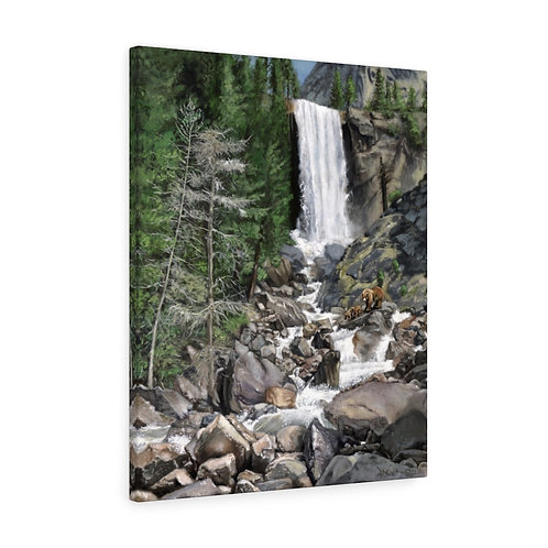 """""""Living Water""""  24X30 Canvas Gallery Wraps"""