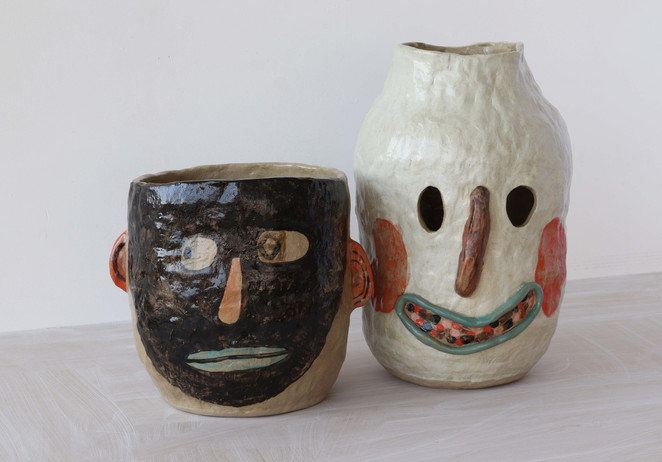 pair of friendly pots