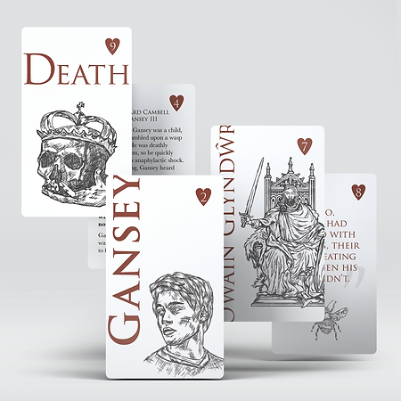 • The Raven Cycle Playing Cards