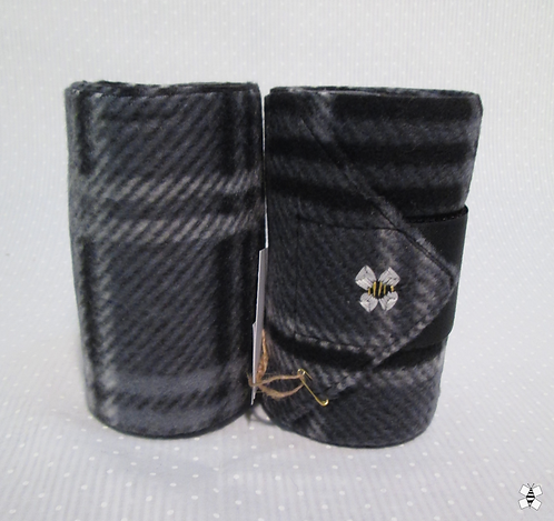 Black Bandit Yearling Polo Wraps (Half Set)