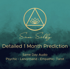 🔮Detailed 1 Month Reading 🔮€20 /$25 /£18.50