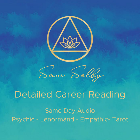 🔑Detailed Career Reading 🔑€20 /$25 /£18.50